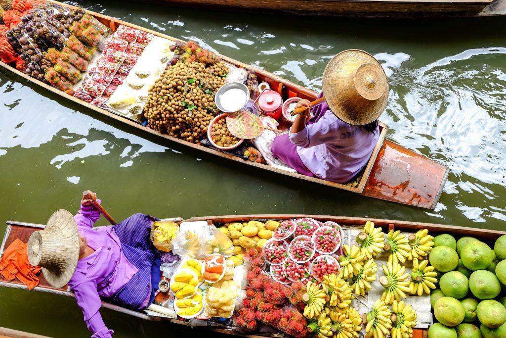 diarrea comida tailandia