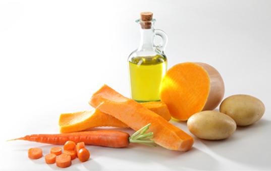 receta pure de patata y zanahoria
