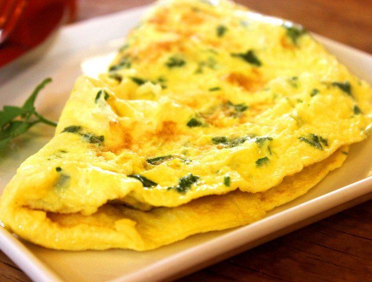 receta de tortilla francesa con migas de pan para la diarrea